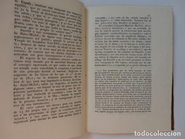 Libros antiguos: Defensas ante comisiones militares francesas en la Ciudadela de Barcelona - A. Buenaventura Gassó - Foto 3 - 153574322