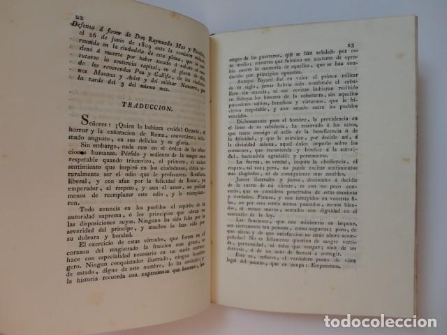Libros antiguos: Defensas ante comisiones militares francesas en la Ciudadela de Barcelona - A. Buenaventura Gassó - Foto 4 - 153574322