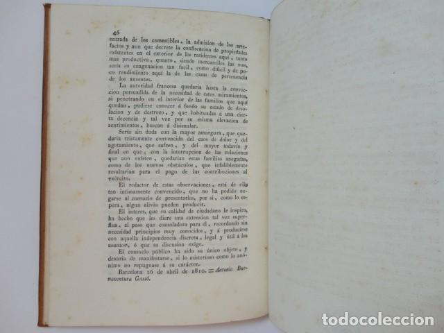Libros antiguos: Defensas ante comisiones militares francesas en la Ciudadela de Barcelona - A. Buenaventura Gassó - Foto 5 - 153574322