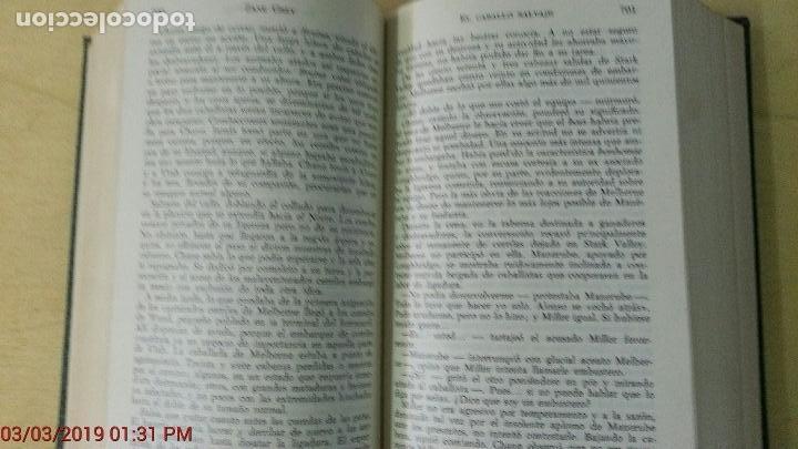 Libros antiguos: ZANE GREY - OBRAS COMPLETOS - TOMO V - NOVELAS - 1ª EDICIÓN - AÑO 1959 - Foto 7 - 148700794