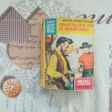 Libros antiguos: MUESCAS EN EL MOSTRADOR MINI LIBROS BRUGUERA Nº 66. Lote 153655626