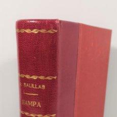 Libros antiguos: EL DELINCUENTE ESPAÑOL. HAMPA. RAFAEL SALILLAS. MADRID. 1898.. Lote 153658334