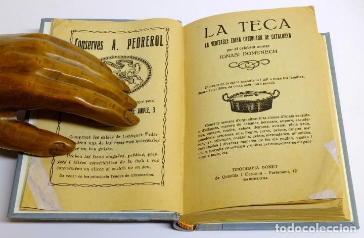 Libros antiguos: 1920c La Teca de Ignasi Domenech - Ejemplar reacondicionado - Especial obsequios (en catalán) - Foto 2 - 153798206