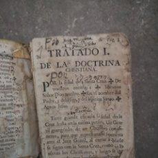 Alte Bücher - Libro pergamino del XVII tratado I de la doctrina christiana - 153812458
