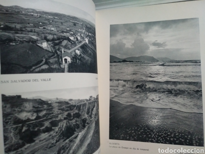 Libros antiguos: BIZKAIKO BEGIRAGARIA. LO ADMIRABLE DE VIZCAYA. HUECOGRABADO ARTE. BILBAO 1934. - Foto 4 - 153851446