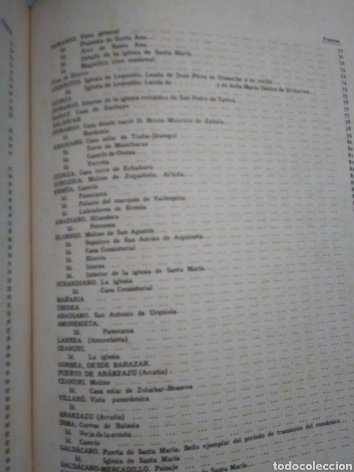 Libros antiguos: BIZKAIKO BEGIRAGARIA. LO ADMIRABLE DE VIZCAYA. HUECOGRABADO ARTE. BILBAO 1934. - Foto 8 - 153851446