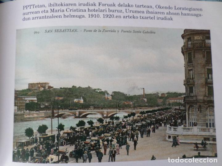 Libros antiguos: SAN SEBASTIAN EN LA TARJETA POSTAL - Foto 20 - 153927910
