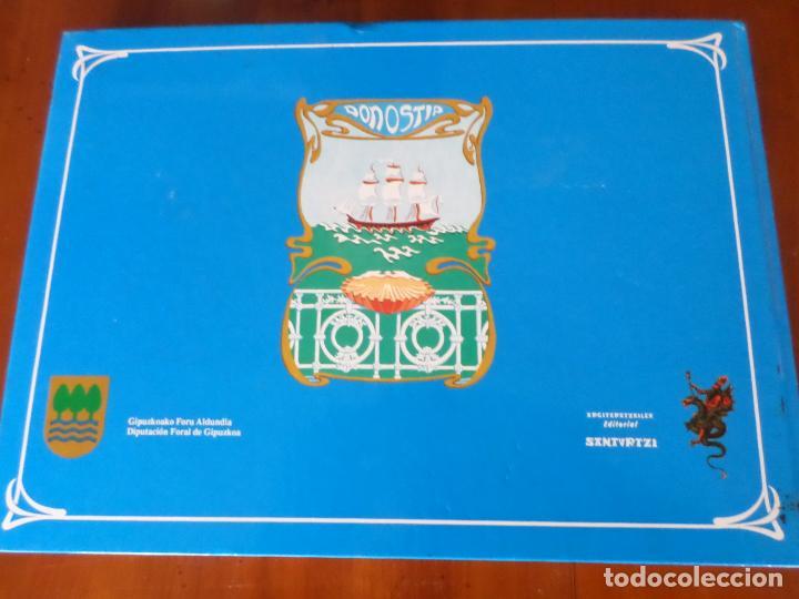 Libros antiguos: SAN SEBASTIAN EN LA TARJETA POSTAL - Foto 32 - 153927910