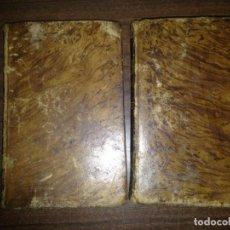 Libros antiguos: LOTE 2 TOMOS EL NUEVO ROBINSON TOMOS I Y II SEÑOR CAMPE AÑO 1832. Lote 153984926