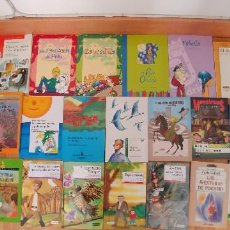 Old books - libros-26- variados-anaya everest -bruño -ala delta-tapa fina, - 153989206