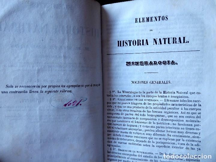 Libros antiguos: L-5269. ELEMENTOS DE HISTORIA NATURAL. MILNE EDWARDS Y AQUILES COMTE. 3 TOMOS. BARCELONA AÑO 1846. - Foto 18 - 154007630