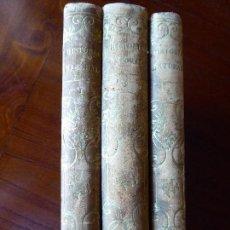 Libros antiguos - L-5269. ELEMENTOS DE HISTORIA NATURAL. MILNE EDWARDS Y AQUILES COMTE. 3 TOMOS. BARCELONA AÑO 1846. - 154007630