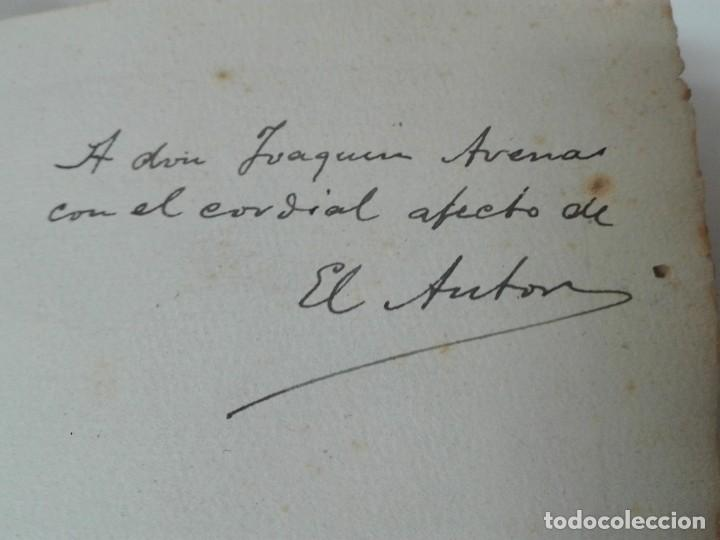 Alte Bücher: GASTRONOMIA ALICANTINA GUARDIOLA ORTIZ FIRMADO POR EL AUTOR MUY RARO - Foto 3 - 154008294