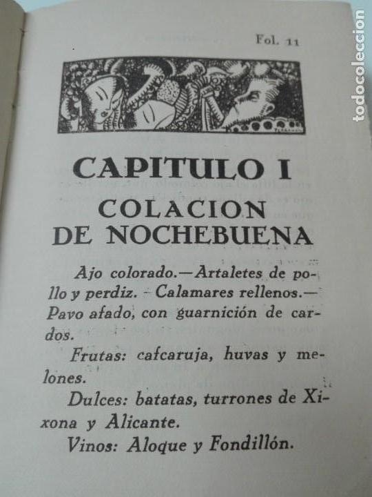 Alte Bücher: GASTRONOMIA ALICANTINA GUARDIOLA ORTIZ FIRMADO POR EL AUTOR MUY RARO - Foto 6 - 154008294
