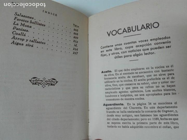 Alte Bücher: GASTRONOMIA ALICANTINA GUARDIOLA ORTIZ FIRMADO POR EL AUTOR MUY RARO - Foto 12 - 154008294