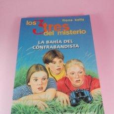 Libros antiguos: LIBRO-LOS 3 TRES DEL MISTERIO-LA BAHÍA DEL CONTRABANDISTA-FIONA KELLY-1ªEDICIÓN-1997-VER FOTOS. Lote 154050138