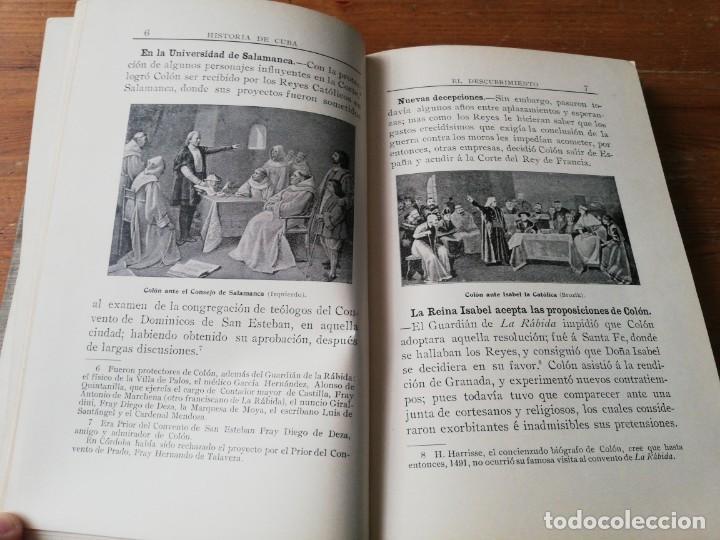 Libros antiguos: Nociones de Historia de Cuba. Vidal Morales y Morales. La Habana. 1904. - Foto 8 - 154097630