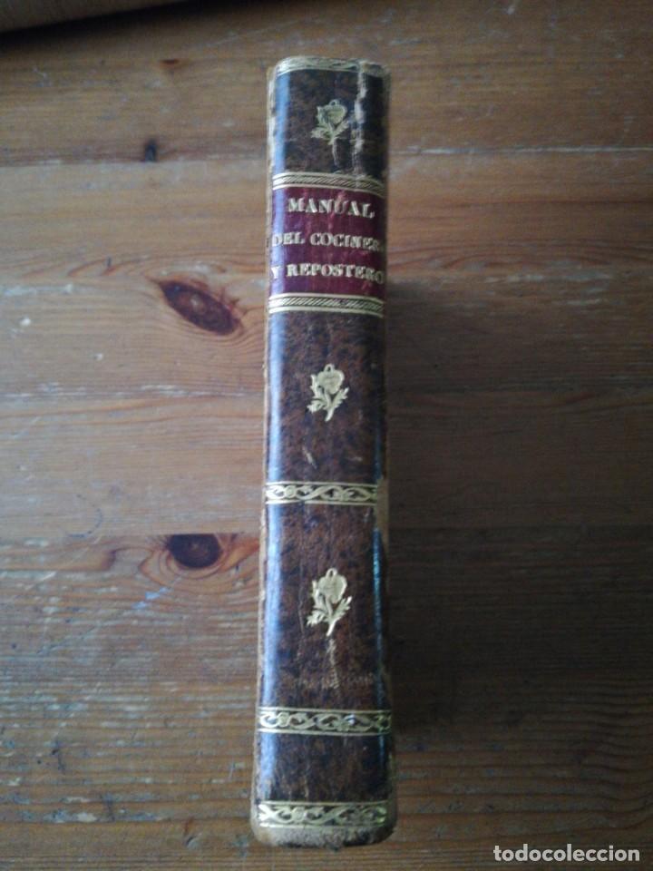 Alte Bücher: Manual del cocinero, cocinera y repostero. Madrid. 1829 - Foto 3 - 154127882