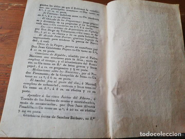 Alte Bücher: Manual del cocinero, cocinera y repostero. Madrid. 1829 - Foto 10 - 154127882