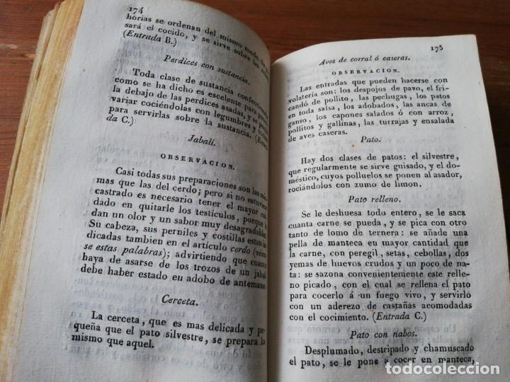 Alte Bücher: Manual del cocinero, cocinera y repostero. Madrid. 1829 - Foto 11 - 154127882