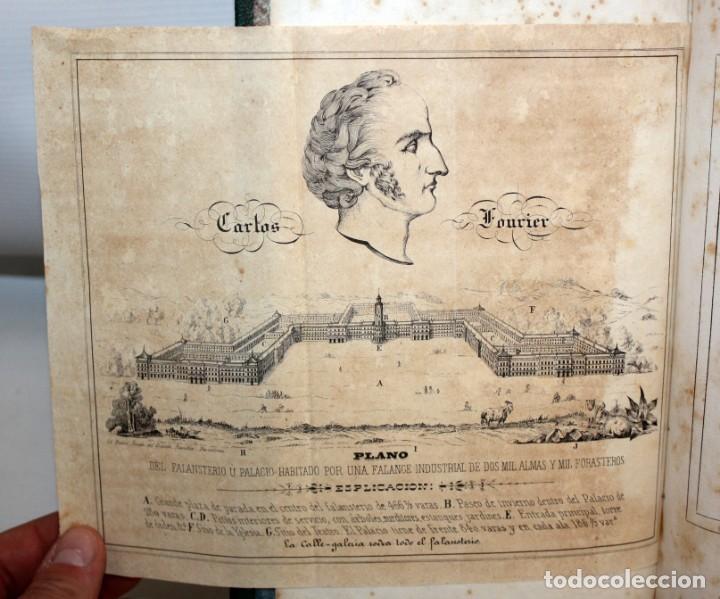 Libros antiguos: EXPLANACION DEL SISTEMA SOCIETARIO-CARLOS FOURIER-1841. - Foto 3 - 154209402