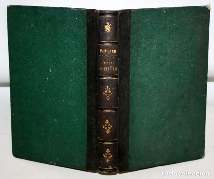 Libros antiguos: EXPLANACION DEL SISTEMA SOCIETARIO-CARLOS FOURIER-1841. - Foto 4 - 154209402