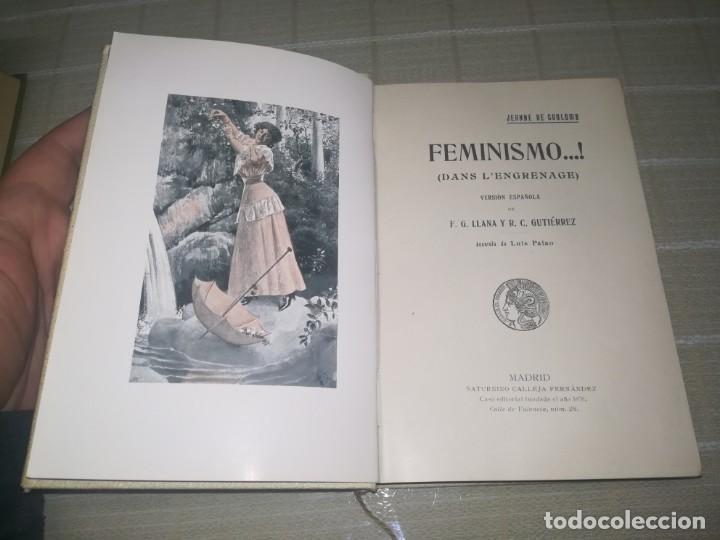 RARO LIBRO FEMINISMO S. CALLEJA MADRID MIREN FOTOS (Libros Antiguos, Raros y Curiosos - Bellas artes, ocio y coleccionismo - Otros)