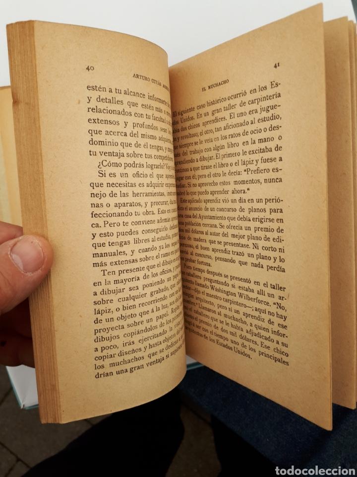 Libros antiguos: EL MUCHACHO. Libro de lectura instructiva,Educativa y amena. Arturo Cuyás Armengol. 1918 - Foto 8 - 154374166