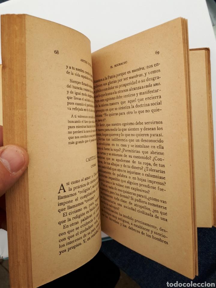 Libros antiguos: EL MUCHACHO. Libro de lectura instructiva,Educativa y amena. Arturo Cuyás Armengol. 1918 - Foto 9 - 154374166