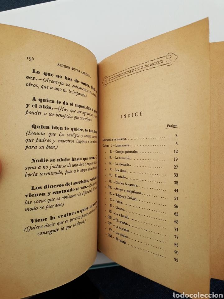 Libros antiguos: EL MUCHACHO. Libro de lectura instructiva,Educativa y amena. Arturo Cuyás Armengol. 1918 - Foto 11 - 154374166