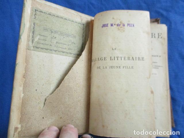 Libros antiguos: LE BAGAGE LITTERARIRE DE LA JEUNE FILLE (EN FRANCES) - Foto 8 - 154432614