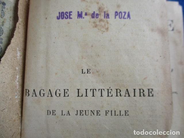 Libros antiguos: LE BAGAGE LITTERARIRE DE LA JEUNE FILLE (EN FRANCES) - Foto 9 - 154432614
