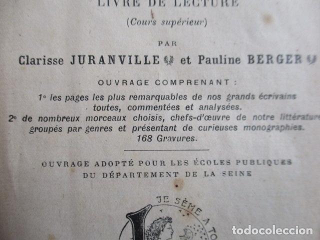 Libros antiguos: LE BAGAGE LITTERARIRE DE LA JEUNE FILLE (EN FRANCES) - Foto 12 - 154432614