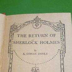 Libros antiguos: THE RETURN OF SHERLOCK HOLMES - CONAN DOYLE - ANTERIOR A 1920. Lote 154445466