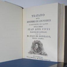 Libros antiguos: ''TRATADO DEL SOCORRO DE LOS POBRES'' 1781. Lote 154476258