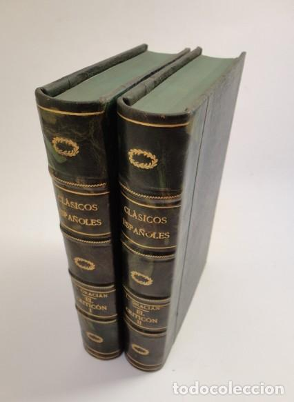 BALTASAR GRACIÁN - EL CRITICÓN,..,REVISADA POR JULIO CEJADOR - RENACIMIENTO, 1913-1914. (Libros antiguos (hasta 1936), raros y curiosos - Literatura - Narrativa - Otros)