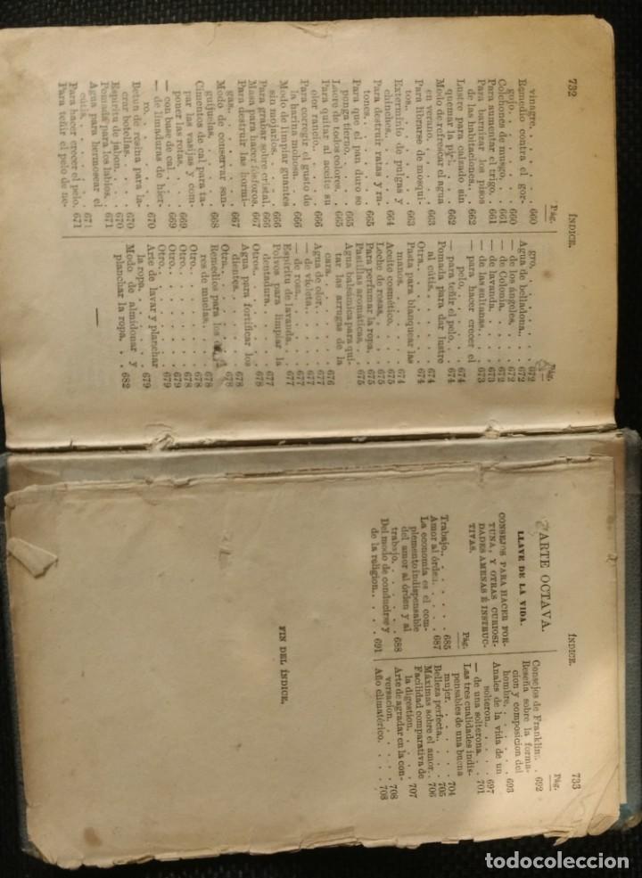 Libros antiguos: LIBRO DE LAS FAMILIAS NOVISIMO MANUAL PRACTICO DE COCINA ESPAÑOLA ,FRANCESA Y AMERICANA - Foto 5 - 154621942