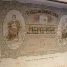 Alte Bücher - BANCO DE BARCELONA 1844-1894 - 154636554