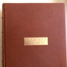 Libros antiguos: MURCIA- ALFONSO X EL SABIO- AYUNTAMIENTO- CAM- EDICION ESPECIAL NUMERADA PIEL- 2.009. Lote 154653198
