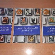 Libros antiguos: 3 LIBROS LOS MAS. Lote 154715890
