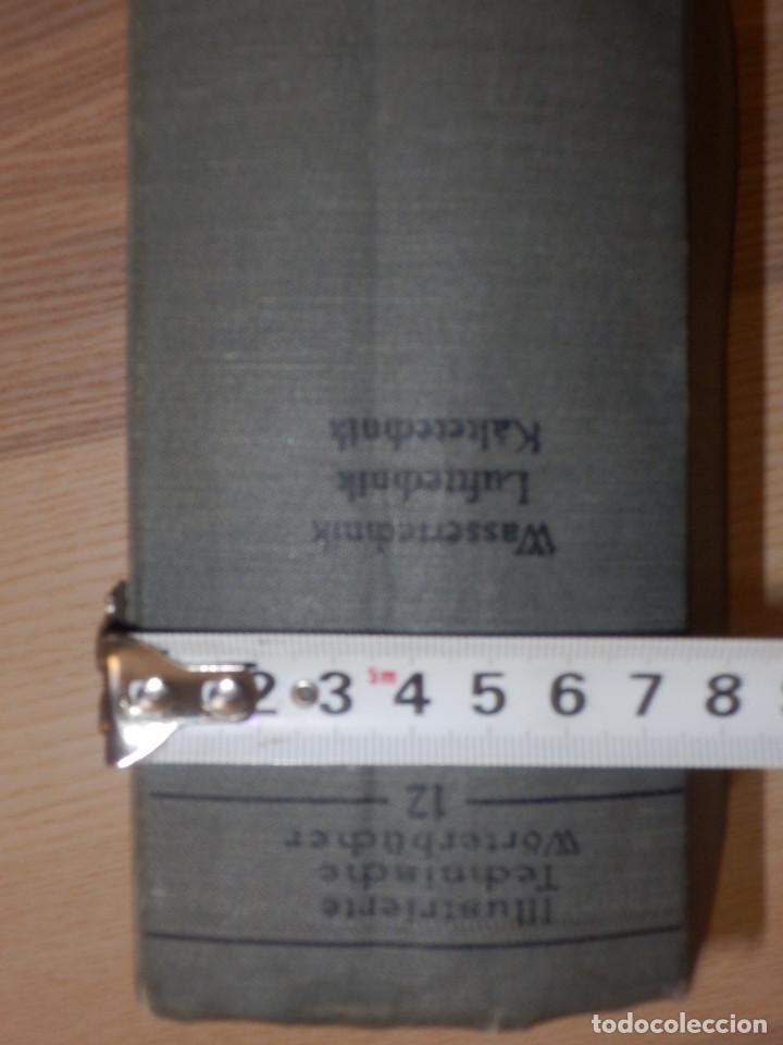 Libros antiguos: Diccionario Técnico Ilustrado Alemán-Inglés-Francés-Ruso-Italiano-Español - Alfred Schlomann - Foto 4 - 154809254
