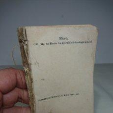 Libros antiguos: ANTIGUA AGENDA MÉDICA 1871 CON DICCIONARIO. Lote 154839892