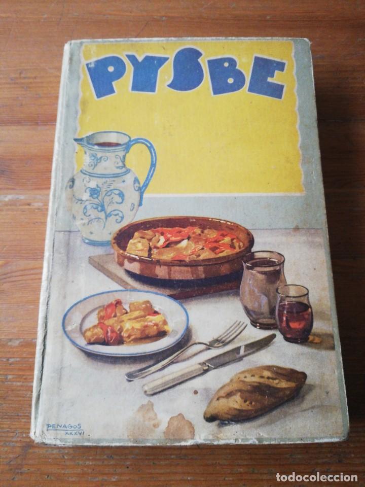 RECETAS DE BACALAO. PYSBE. ILUSTRACIONES PENAGOS Y GARMENDIA. (Libros Antiguos, Raros y Curiosos - Cocina y Gastronomía)
