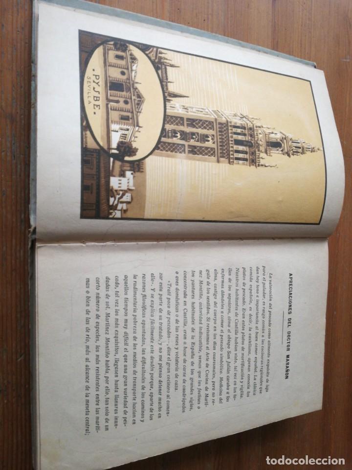 Libros antiguos: Recetas de Bacalao. Pysbe. Ilustraciones Penagos y Garmendia. - Foto 5 - 154925722