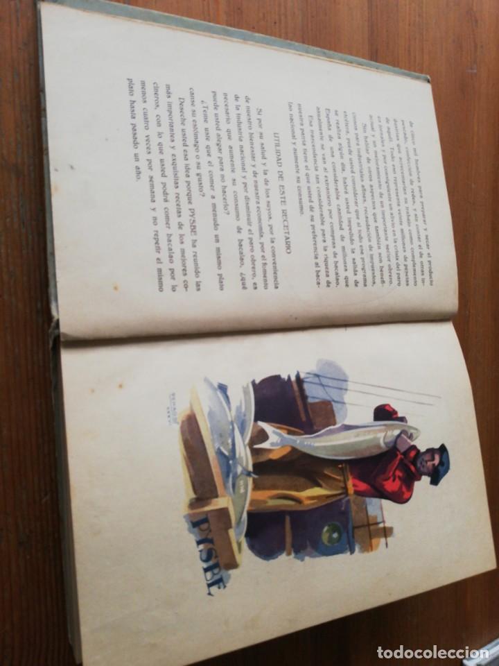 Libros antiguos: Recetas de Bacalao. Pysbe. Ilustraciones Penagos y Garmendia. - Foto 6 - 154925722