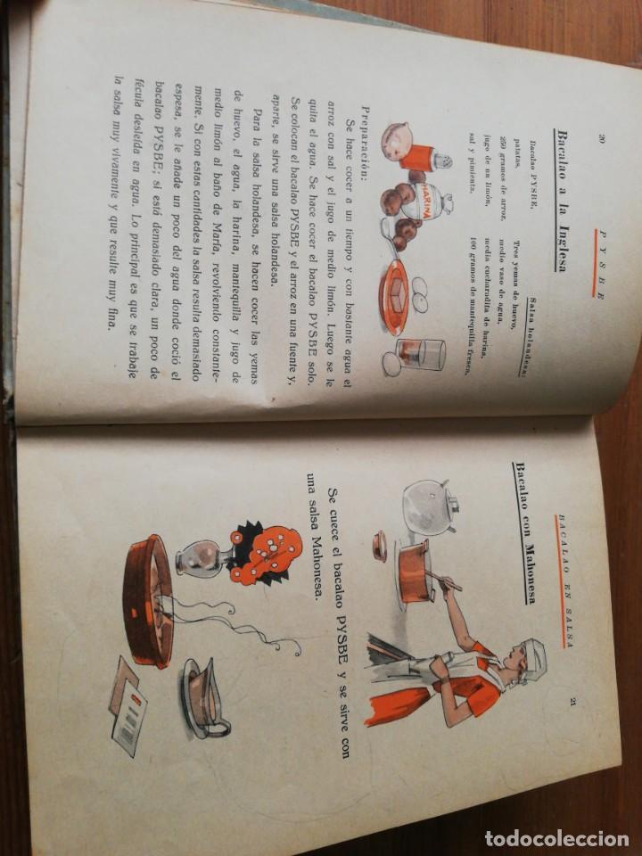 Libros antiguos: Recetas de Bacalao. Pysbe. Ilustraciones Penagos y Garmendia. - Foto 7 - 154925722