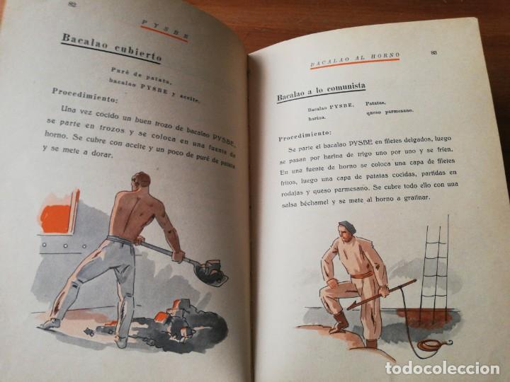 Libros antiguos: Recetas de Bacalao. Pysbe. Ilustraciones Penagos y Garmendia. - Foto 8 - 154925722