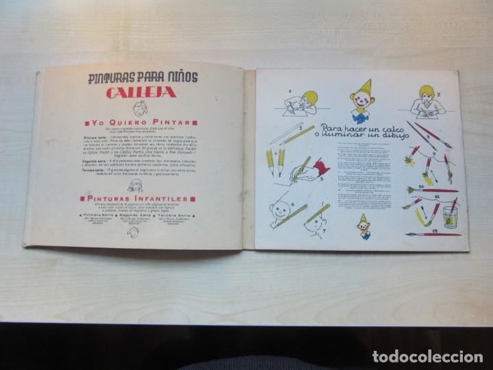 Libros antiguos: Libro de Dibujo Yo quiero pintar 2ª serie nº 4 Editor Saturnino Calleja 1936 - Foto 15 - 154970050