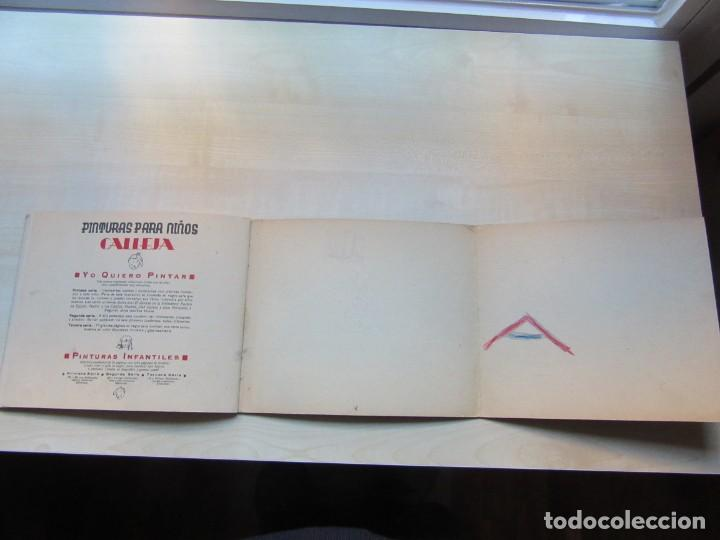 Libros antiguos: Libro de Dibujo Yo quiero pintar 2ª serie nº 4 Editor Saturnino Calleja 1936 - Foto 16 - 154970050
