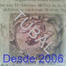 Libros antiguos: TUBAL 1672 PRIMERISIMA EDICION DE LA VIDA DE SAN FRANCISCO DE SALES POR FERNANDO CUBILLAS 448 PGS. Lote 154974878